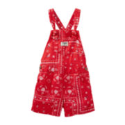 OshKosh B'gosh® Bandana Shortalls - Baby Girl 6m-24m