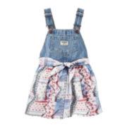 OshKosh B'Gosh® 3-pc. Cotton Top, Skirt and Belt Set - Baby Girls newborn-24m