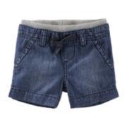 OshKosh B'gosh® Denim Shorts - Baby Boys newborn-24m