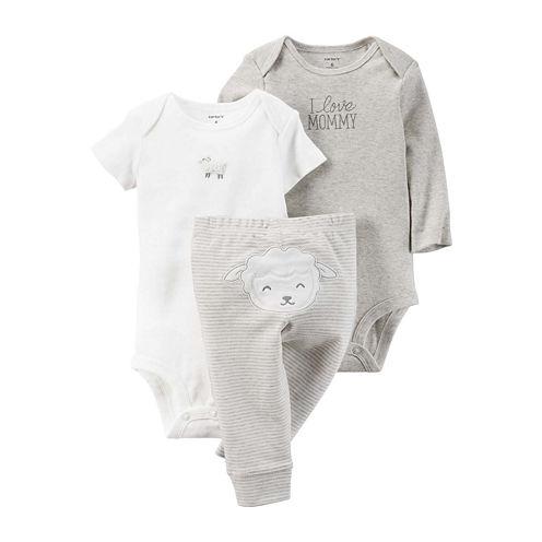 Carter's® 3-pc. Lamb Layette Set - Babies newborn-24m