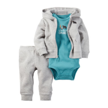 jcpenney.com | Carter's® 3-pc. Explorer Layette Set - Baby Boys newborn-24m