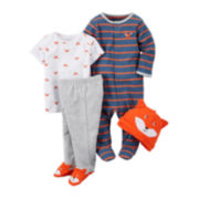 Carter's® 4-pc. Fox Layette Set - Baby Boys newborn-24m