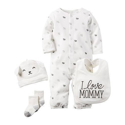 Carter's® 4-pc. Lamb Layette Set - Babies newborn-24m