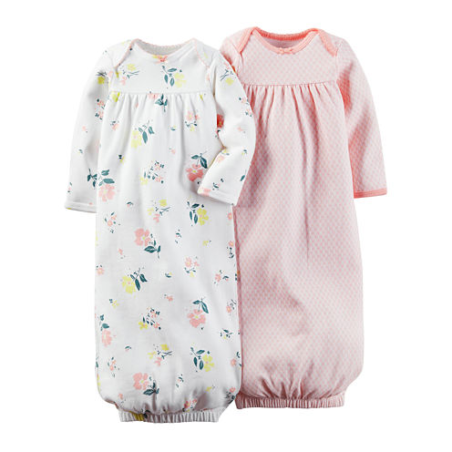 Carter's® 2-pk. Floral Gowns - Baby Girls one size fits newborn