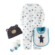 Carter's® 4-pc. Bear Layette Set - Baby Boys newborn-24m