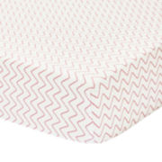 The Peanut Shell® Petit Nest Penelope Crib Fitted Sheet