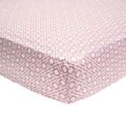 The Peanut Shell® Petit Nest Sophie Fitted Crib Sheet