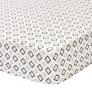 The Peanut Shell® Petit Nest Sydney Crib Fitted Sheet