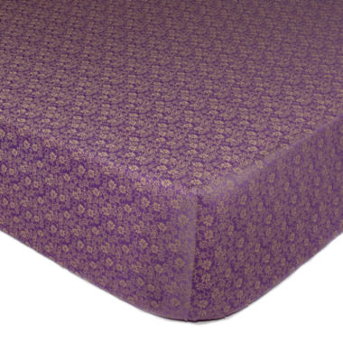 jcpenney.com | The Peanut Shell® Dahlia Crib Fitted Sheet
