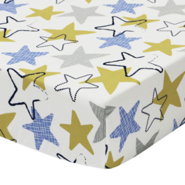 jcpenney.com | The Peanut Shell® Stargazer Fitted Crib Sheet