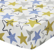 The Peanut Shell® Stargazer Fitted Crib Sheet