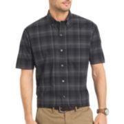 Van Heusen® Short-Sleeve Luxe Touch Easy Care Woven Shirt