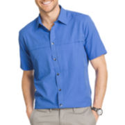 Van Heusen® Short-Sleeve Traveler Utility Shirt