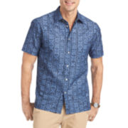 Van Heusen® Short-Sleeve Pattern Shirt