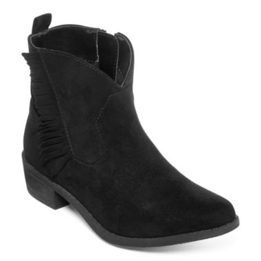 jcpenney.com | Arizona Booker Girls Fringe Booties - Little Kids