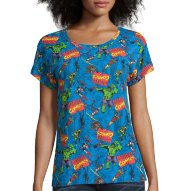 jcpenney.com | All Over Print Tee - Juniors