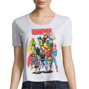 Mighty Fine Short-Sleeve Marvel Graphic Print Tee