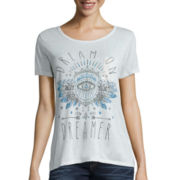 Hybrid Short-Sleeve Washed Pocket Graphic Tee