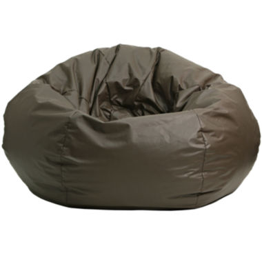jcpenney.com | Oversized Leather-Look Beanbag Chairs