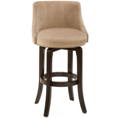 jcpenney.com | Hartman Swivel Upholstered Barstool with Back