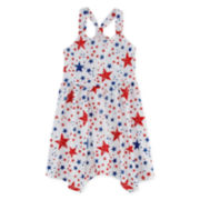 Arizona Americana Sleeveless Jersey Dress - Preschool Girls 4-6x