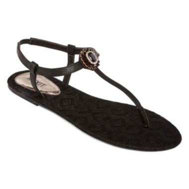 jcpenney.com | Mixit™  Opaque Flower T-Strap Sandals