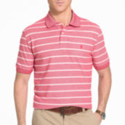 IZOD® Short-Sleeve Newport Oxford Rugby Stripe Polo