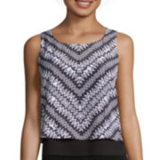 Bisou Bisou® Tiered Crop Top