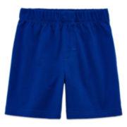 Okie Dokie® Basic Shorts - Baby Boys newborn-24m