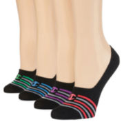 Champion® Double Dry 4-Pack Invisible Liner Socks