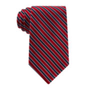 Stafford® Executive Thin Stripe Silk Tie