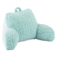 Home Expressions Faux Fur Back Rest (Eggshell Blue)