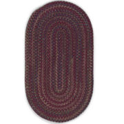 Andreanna Reversible Braided Oval Rug