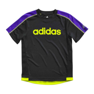 jcpenney.com | adidas® Short-Sleeve Performance Tee - Boys 4-7x