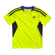 adidas® Short-Sleeve Performance Tee - Boys 4-7x
