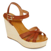 St. John's Bay® Wynona Wedge Sandals