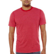 Xersion™ Striped Short-Sleeve Tee
