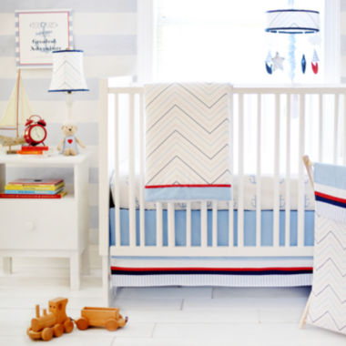 jcpenney.com | My Baby Sam First Mate 3-pc. Crib Bedding Set