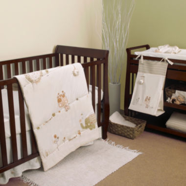 jcpenney.com | Natures Purest Sleepy Safari 4-pc. Crib Bedding Set