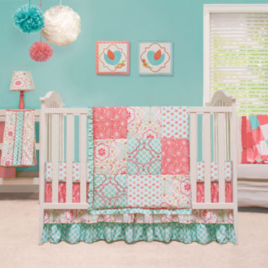 jcpenney.com | The Peanut Shell® 4-pc. Mila Crib Bedding Set