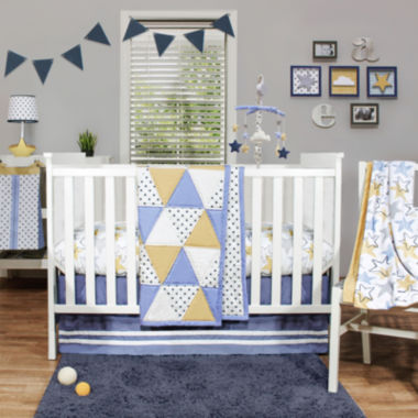 jcpenney.com | The Peanut Shell® 4-pc. Stargazer Crib Bedding Set