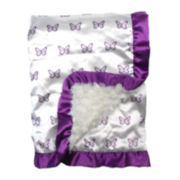 The Peanut Shell® Petit Tresor Papillion Blanket