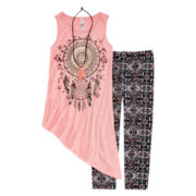 Beautees 2-pc. Tank Top and Leggings Set - Girls 7-16