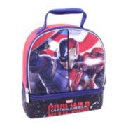Marvel® Captain America Double-Zip Lunch Kit - Boys