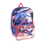 Marvel® Captain America: Civil War Backpack with Lunch Kit - Boys