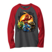 Ninjago Long-Sleeve Novelty Raglan Shirt - Boys 8-20