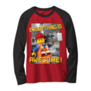 Lego Movie Long-Sleeve Novelty Raglan Shirt - Boys 8-20