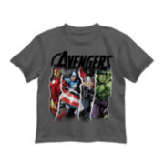 Short-Sleeve Avengers Graphic Tee - Preschool Boys 4-7