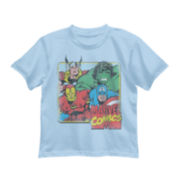 Short-Sleeve Marvel Tee - Preschool Boys 4-7