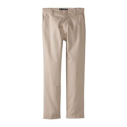 U.S. Polo Assn.® Flat-Front Pants - Boys 8-16